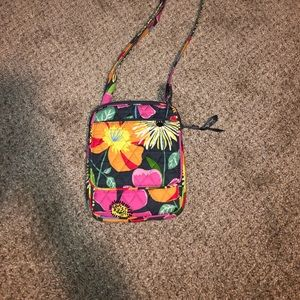 Vera Bradley cross body mini purse